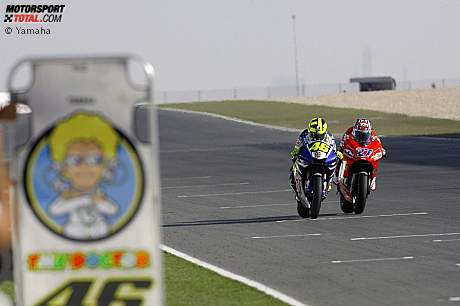 Valentino Rossi und Casey Stoner
