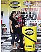 Jeff Gordon (Hendrick) mit Ehefrau