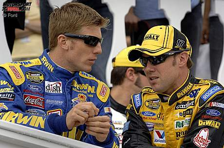 Jamie McMurray und Matt Kenseth (Roush)