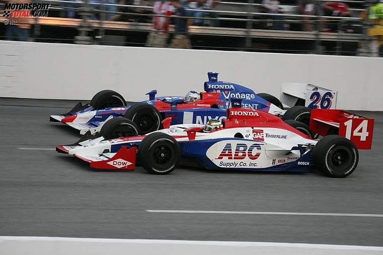 Darren Manning (A.J. Foyt) und Marco Andretti (Andretti Green)