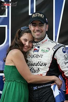 Dario Franchitti mit seiner Ehefrau Ashley Judd