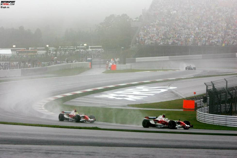 Ralf Schumacher und Jarno Trulli (Toyota)