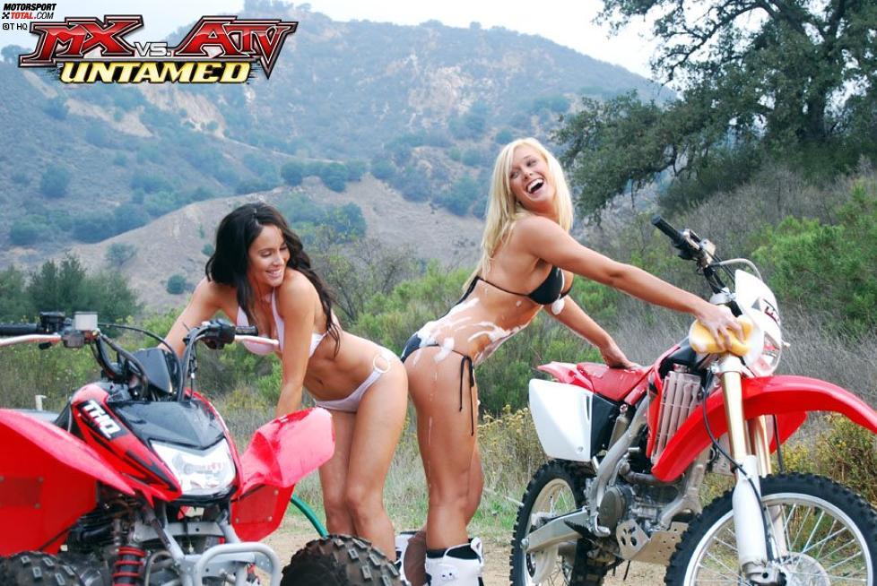 Naked Girl Riding An