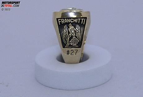 Dario Franchittis Siegerring der Indy 500