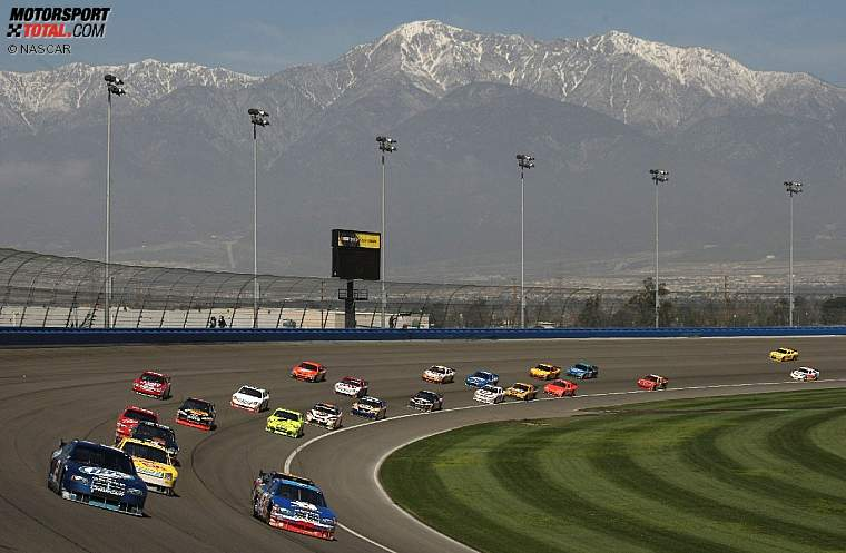 Sprint-Cup-Feld in Fontana