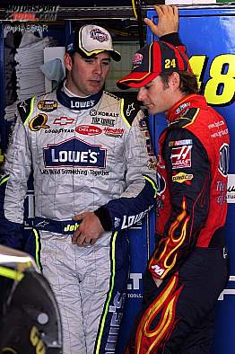2007: Jeff Gordon Jimmie Johnson