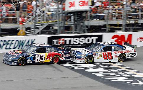 Brian Vickers  Dale Earnhardt Jun.