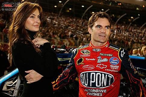 Jeff Gordon mit Frau