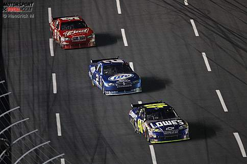 Kasey Kahne Kurt Busch  Jimmie Johnson