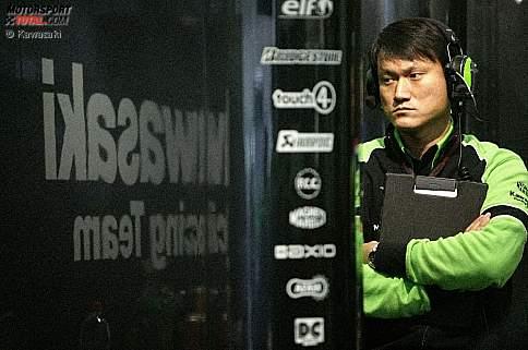 Kawasaki-Technikchef Naoya Kaneko