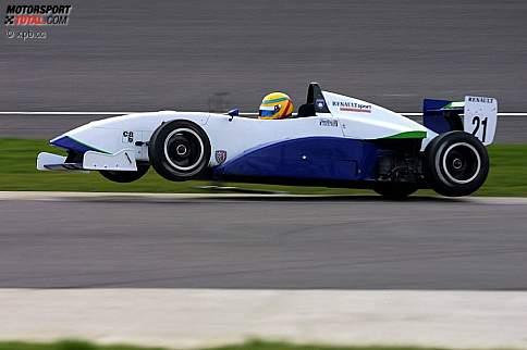 Lewis Hamilton (McLaren-Mercedes) 2002 Formel Renault