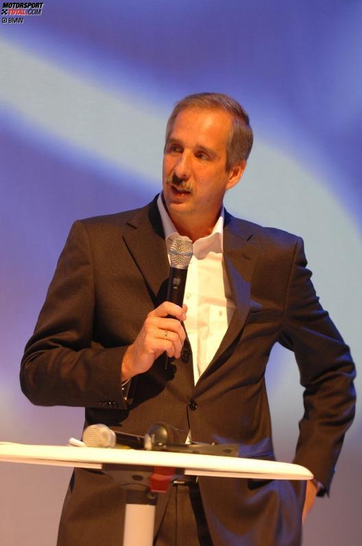 BMW Entwicklungsvorstand Klaus Draeger