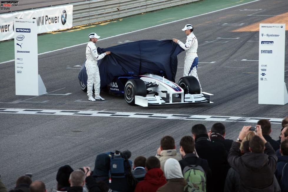 Nick Heidfeld und Robert Kubica (BMW Sauber F1 Team)