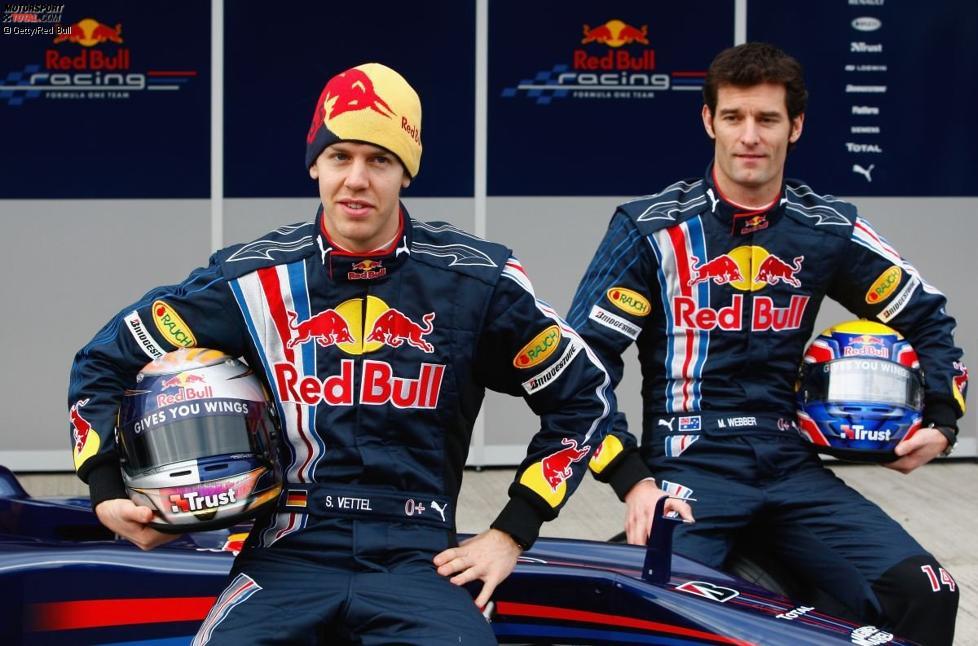 Sebastian Vettel und Mark Webber (Red Bull)
