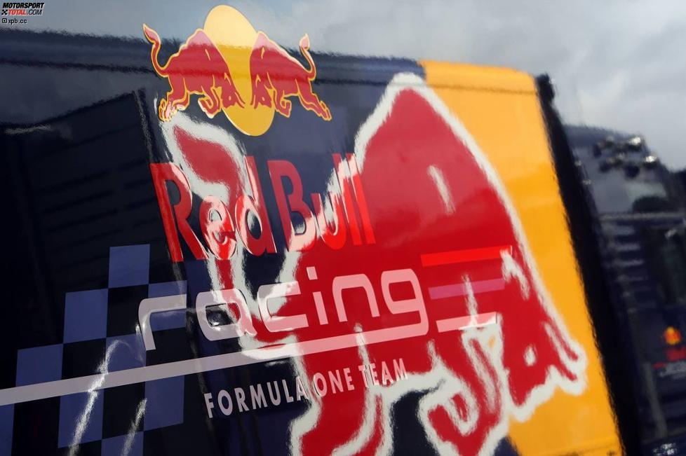 Truck von Red Bull Racing