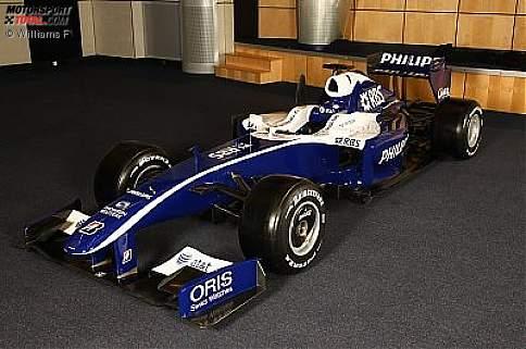Die neue Lackierung des Williams FW31