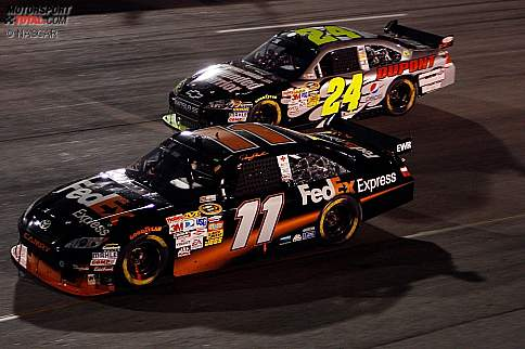 Denny Hamlin  Jeff Gordon