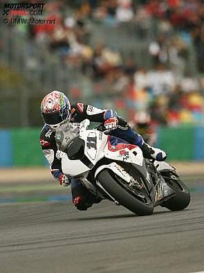 Troy Corser BMW