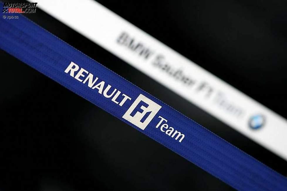 Renault-Absperrung