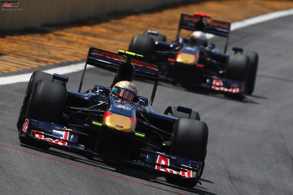 Sébastien Buemi vor Jaime Alguersuari (Toro Rosso)
