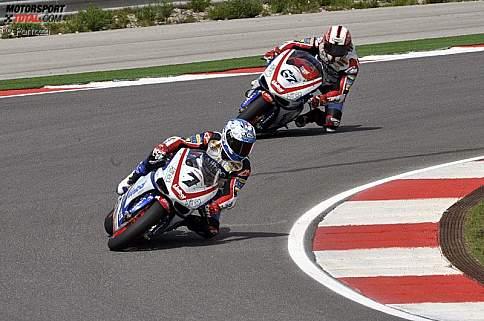 Carlos Checa und Shane Byrne
