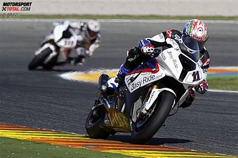 Troy Corser und Ruben Xaus (BMW)