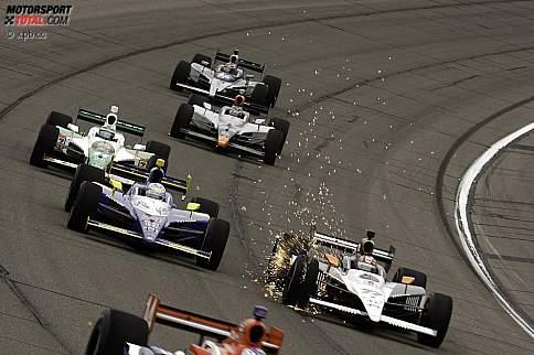 Tony Kanaan (Andretti) Alex Tagliani (FAZZT) Mike Conway (Dreyer and Reinbold)