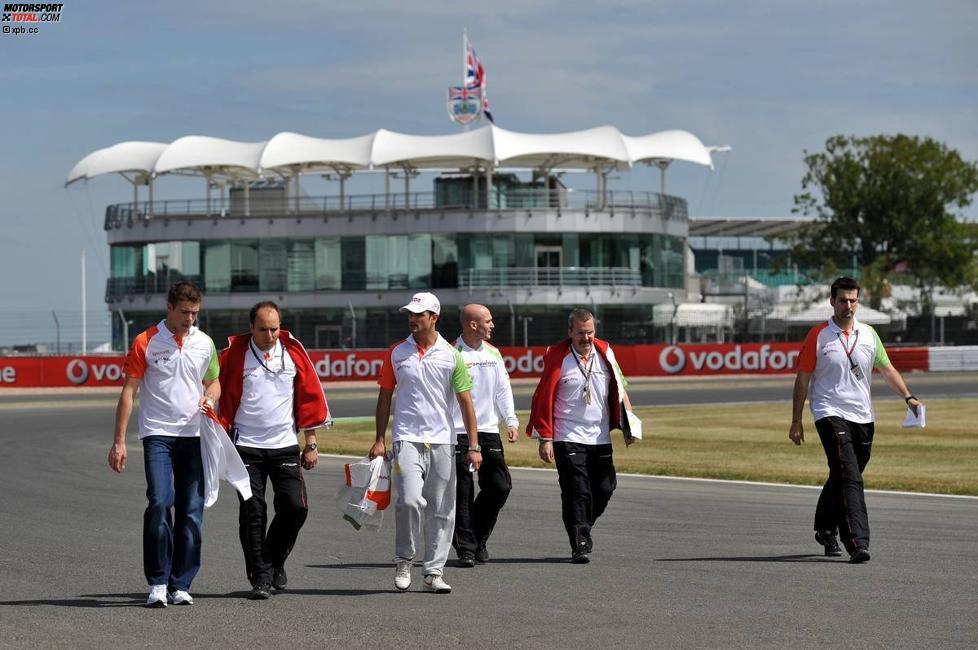 Paul di Resta und Vitantonio Liuzzi (Force India)