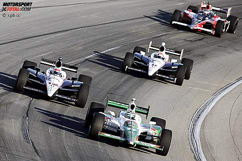 Tony Kanaan (Andretti) Will Power (Penske)