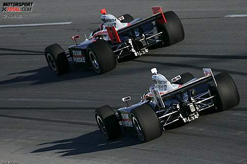 Ryan Briscoe und Helio Castroneves