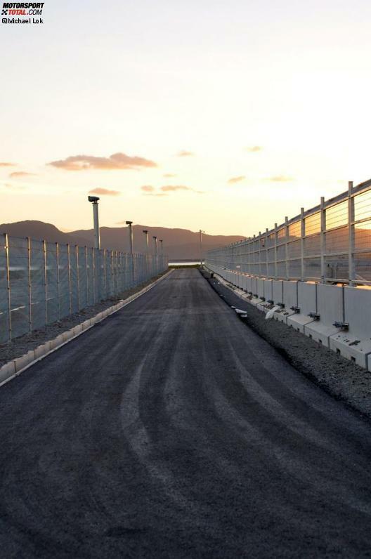 Baufortschritt in Yeongam/Südkorea, aufgenommen am 28. September 2010