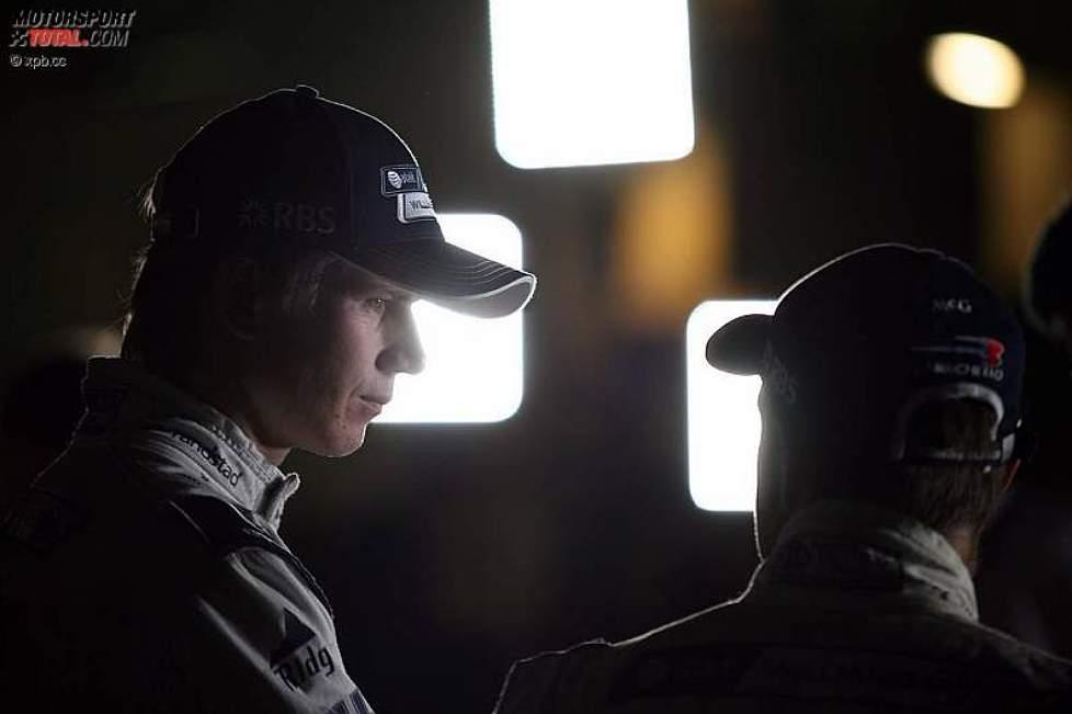 Nico Hülkenberg (Williams) und Rubens Barrichello (Williams)