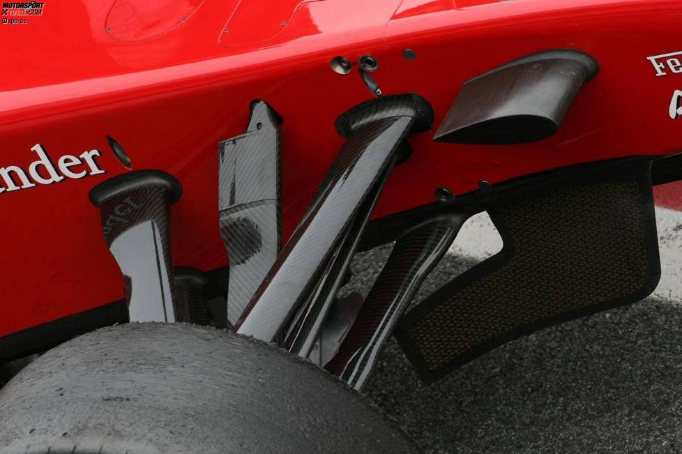 Ferrari-Vorderradaufhängung