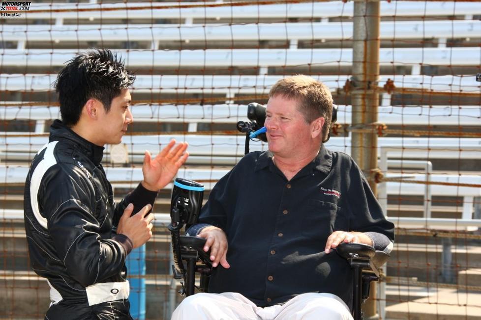 Ho-Pin Tung (Dragon) und Sam Schmidt