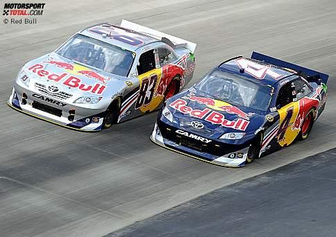 Die Red-Bull-Piloten Brian Vickers und Kasey Kahne