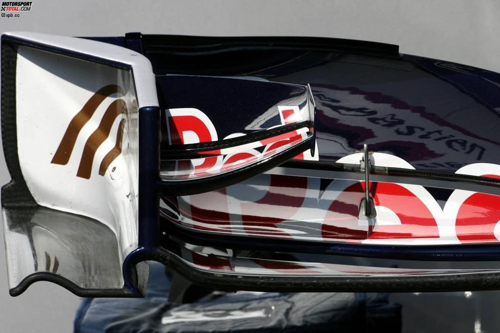 Frntflügeldetail von Toro Rosso