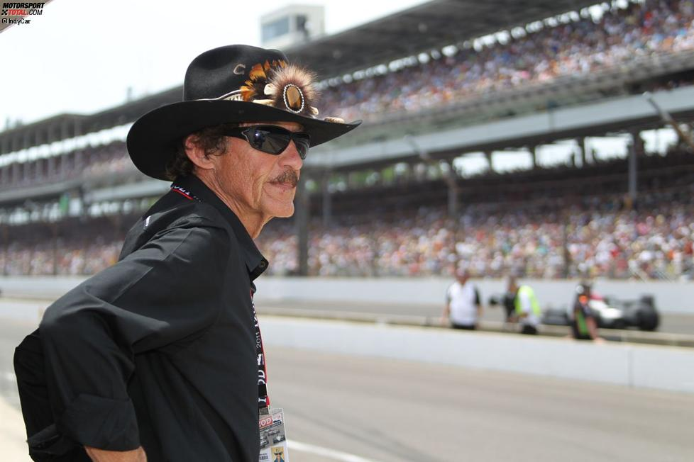 Richard Petty in Indianapolis