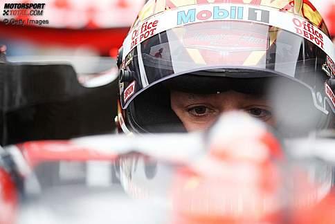 Tony Stewart (SHR) im McLaren