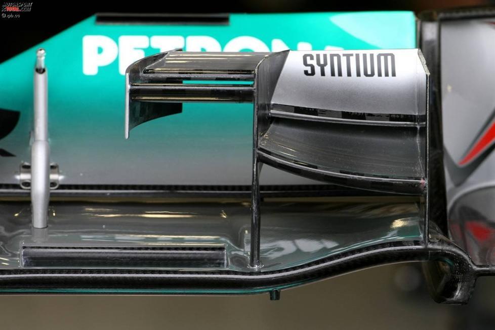 Mercedes-Frontflügel