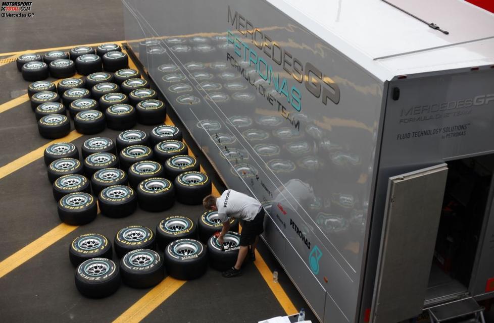 Reifen bei Mercedes