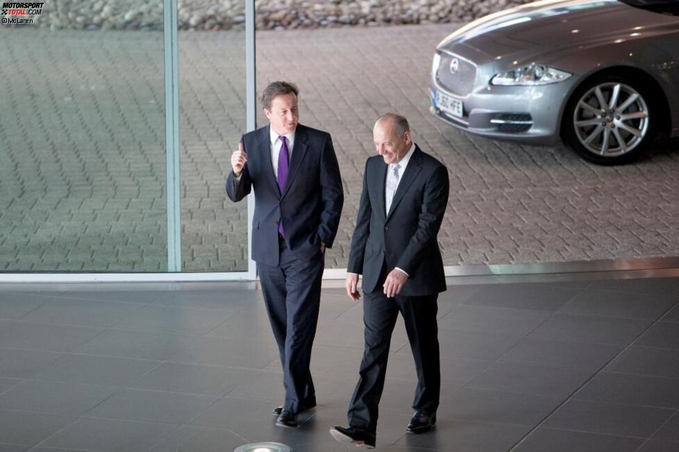 David Cameron und Ron Dennis