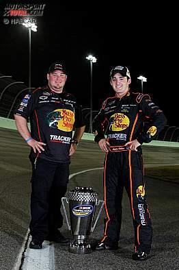 Truck-Champion Austin Dillon und Crewchief Danny Stockman