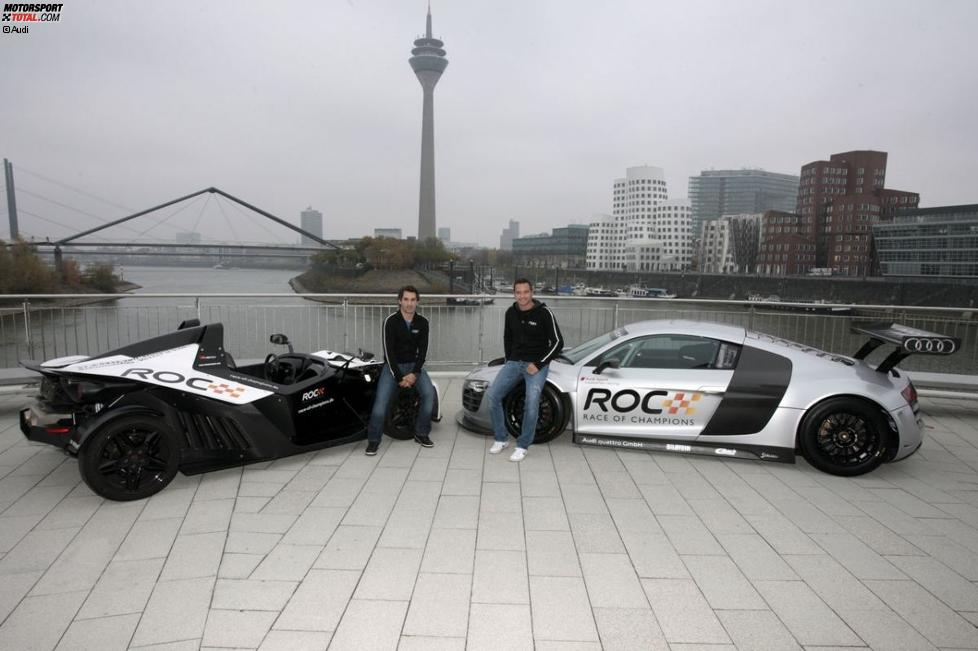 Timo Scheider und Timo Glock (Marussia-Virgin)