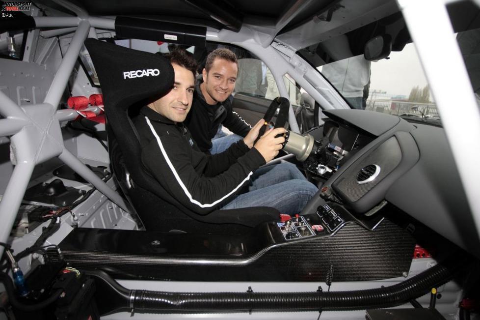 Timo Scheider und Timo Glock