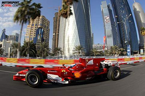 Marc Gene (Ferrari) in Doha/Katar