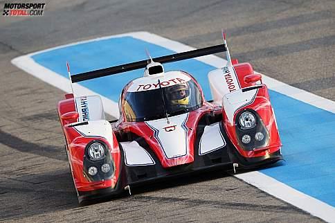 Der Toyota TS030 HYBRID für Le Mans