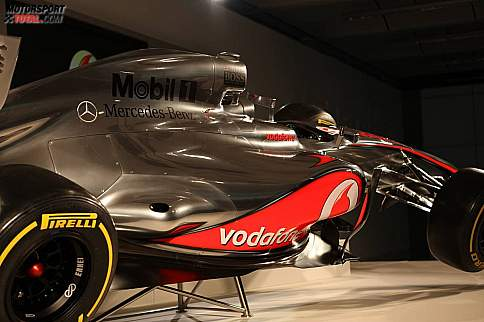 Der neue McLaren-Mercedes MP4-27
