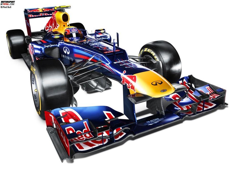 Der Red-Bull-Renault RB8