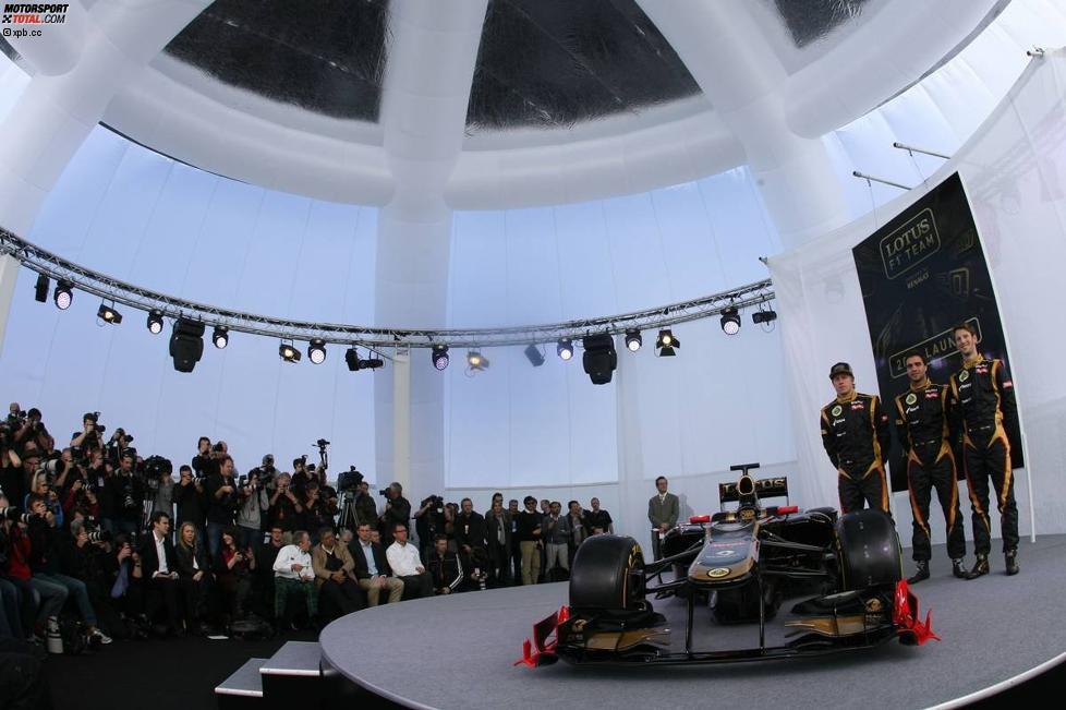 Lotus-Präsentation 2012