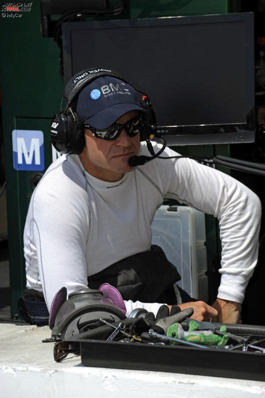 Rubens Barrichello (KV) musste lange Zeit zusehen
